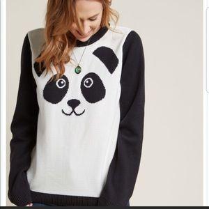 ModCloth Panda Sweater